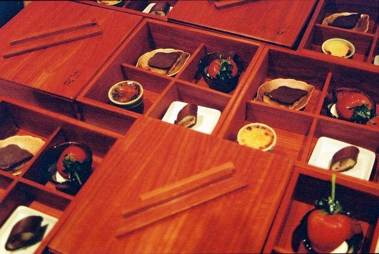 Japanese Bento Box of Dessert