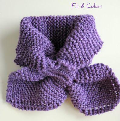 Bow Tie Scarf di Theresa Belville | .: Fili&Colori :. Blog