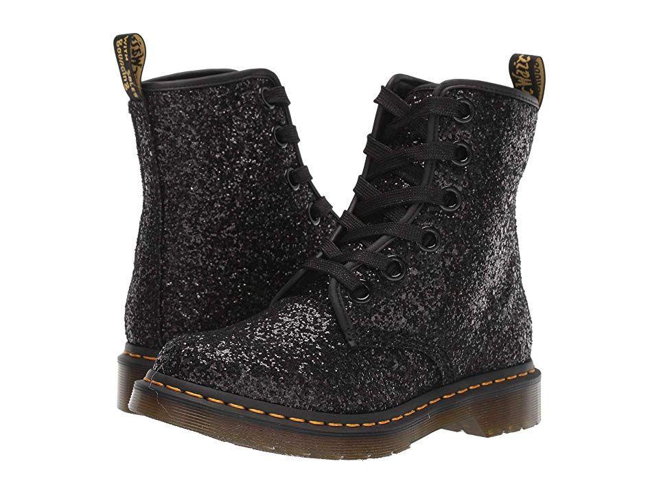 Dr Martens Dr Martens 1460 Farrah Chunky Glitter Womens Boots Black