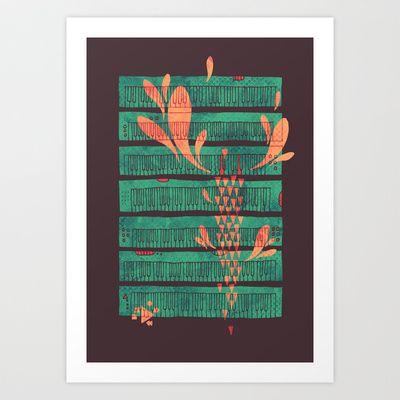 Power Chord Art Print by Hector Mansilla - $17.00