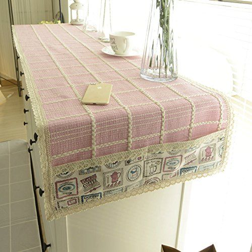 Woven Fabric Computer Table Cloth/TV Cabinet Drawers Shoe Coffee Table Cover  Towel/Table Runner/Tablecloth A
