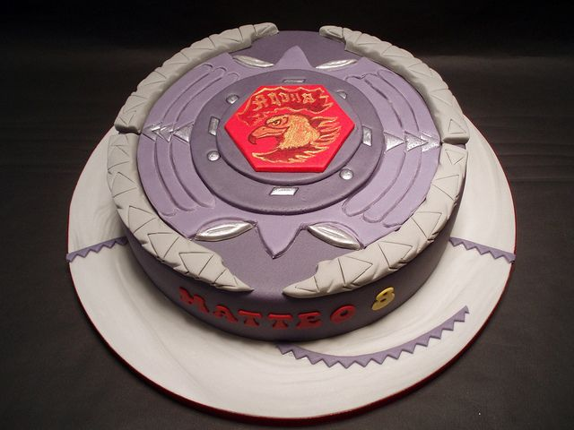 BEYBLADE CAKE by fati dream cakes, via Flickr