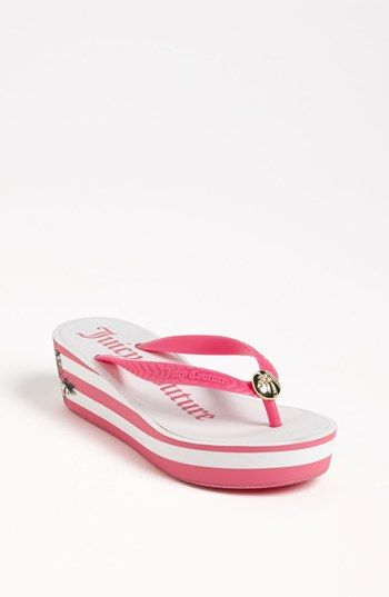 Juicy Couture 'Isabelle' Sandal (Toddler, Little Kid