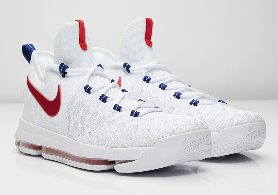 on sale 770d5 eeb63 Celebrate The Olympics With The Nike KD 9 Premiere   Kevin durant shoes, Durant  shoes and Shoes sneakers