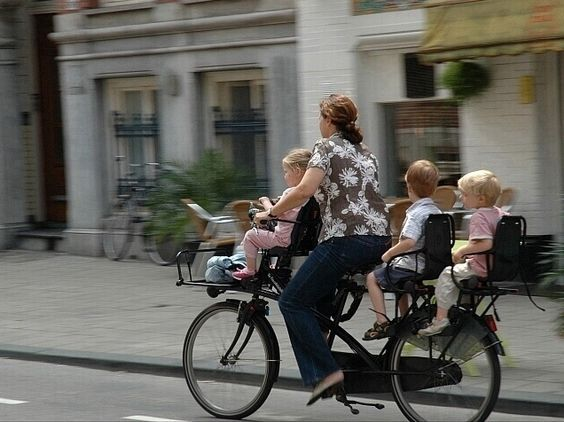 creative bikes for families - Google Search
