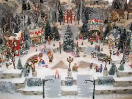 Image result for miniature christmas villages