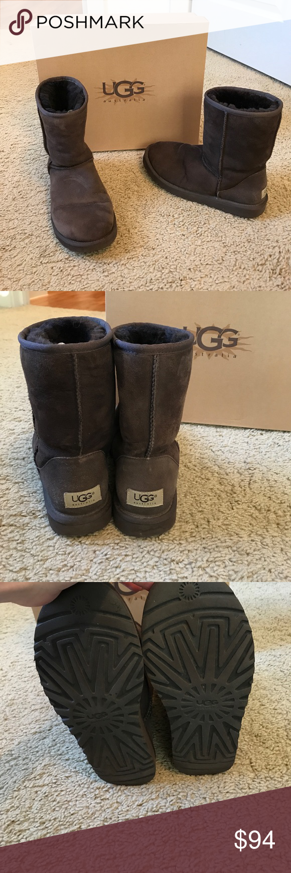 Taille W7 Brown Brown W7 Ugg Bottes Comfy Bottes! 9a89ecc - freemetalalbums.info
