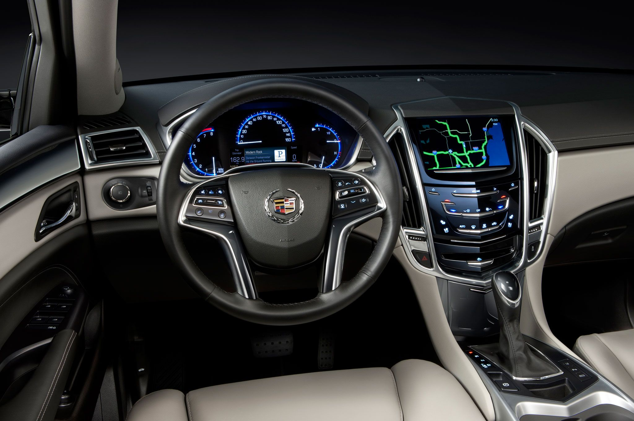 cadillac review premium awd srx