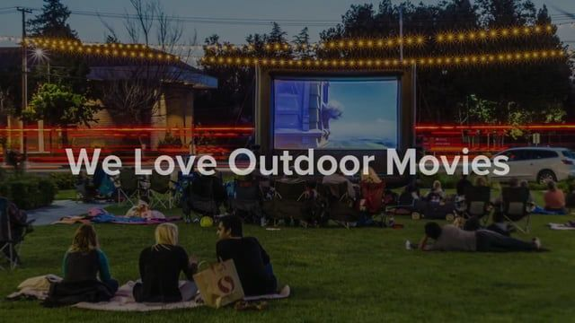 Funflicks Northern California Is Proud To Offer Outdoor