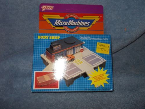 Micro Machines Body Shop Box The Body Shop Micro Machines City Travel
