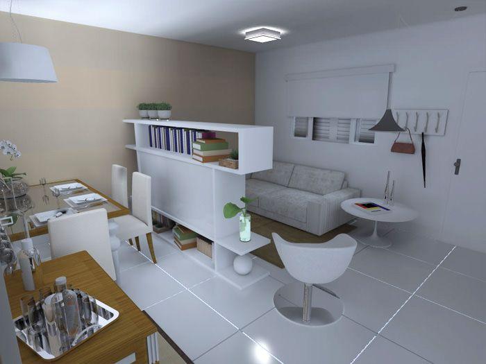 Como decorar uma sala quadrada como decorar uma sala for Como decorar sala grande