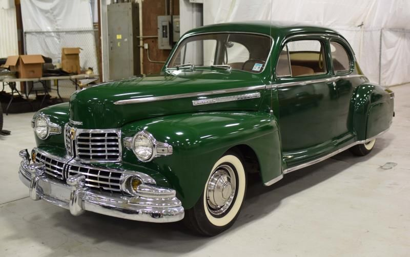 1936 Lincoln Zephyr 2 Door Coupe Not A 36 Its Either A 1947 Or