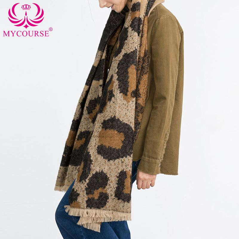 Find More Scarves Information about MYCOURSE Cashmere Scarf women Poncho Duplex Winter Knitted Cashmere Shawls Scarves Leopard Shawls Scarf Luxury Brand 80 x 200cm ,High Quality scarf circle,China scarf patterns for kids Suppliers, Cheap scarf england from MYCOURSE on Aliexpress.com