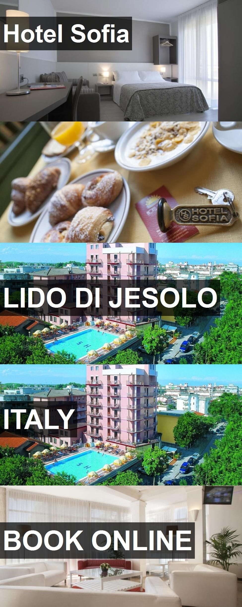 Hotel Sofia in Lido di Jesolo, Italy. For more information, photos, reviews and best prices please follow the link. #Italy #LidodiJesolo #travel #vacation #hotel