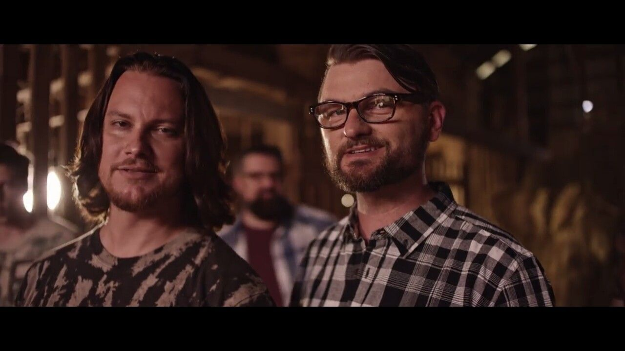 Two Of The Sexiest Men Alive Tim Foust And Adam Chance On Hillbilly Bone Home Free Music Home Free Vocal Band Home Free
