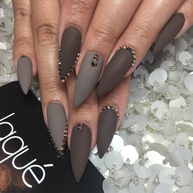 #nails#acrylic#fullset#coffin#almond#square#stiletto#shape ...