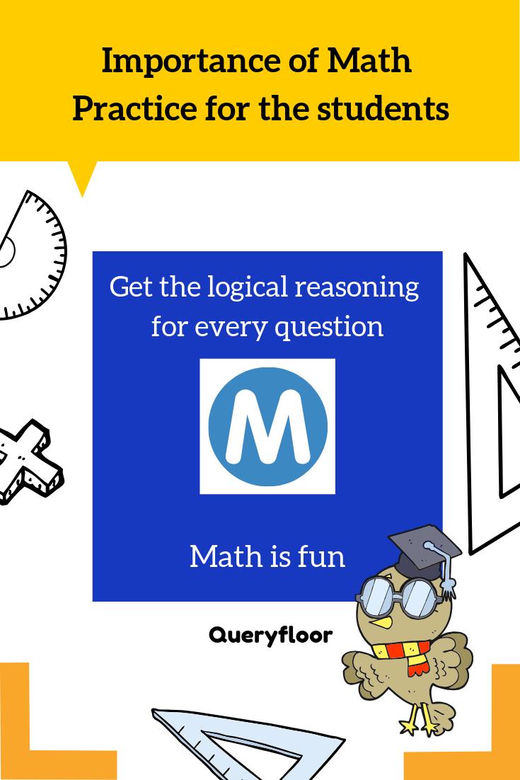 importance of math homework