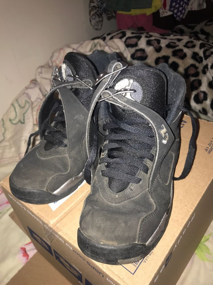 638464251c2c41 Air Jordan Retro 8 Chrome Size 6.5  fashion  clothing  shoes  accessories