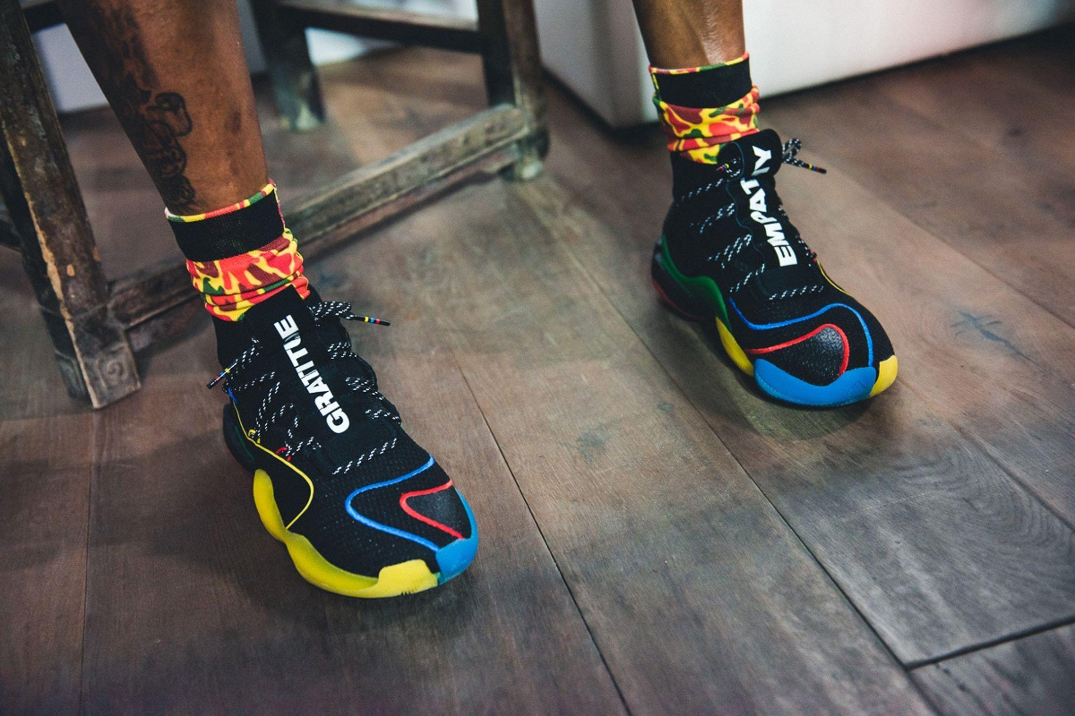 8ff410fd4 First Look  Pharrell x adidas Crazy BYW X - EU Kicks  Sneaker Magazine