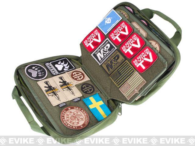 Phantom Gear Tactical 12 Velcro Patch Book Desert Tac Gear