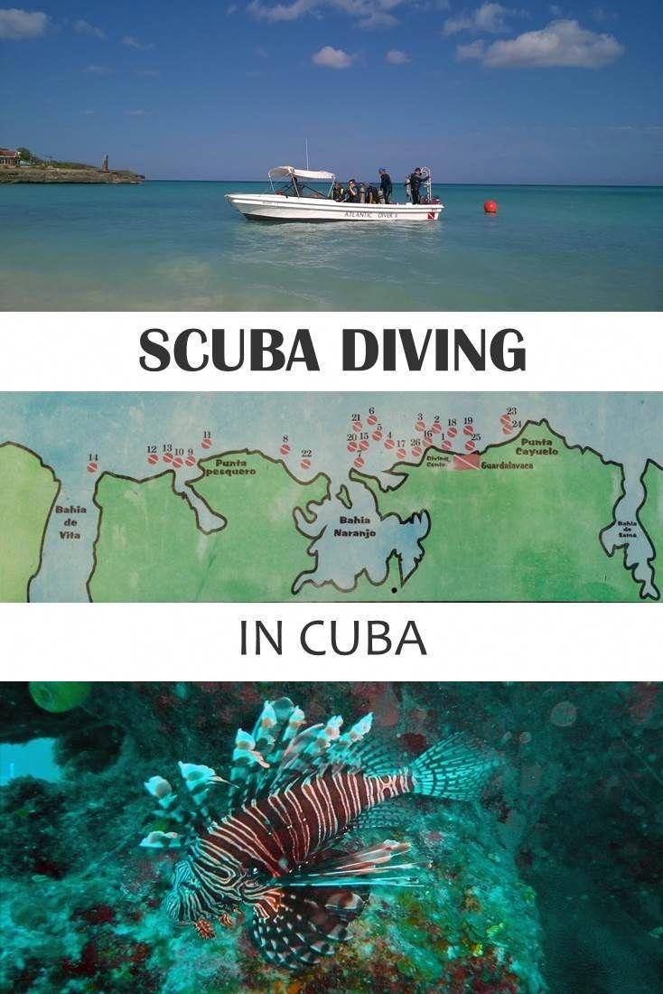 Scuba Diving In Cuba Is Amazing! In Guardalavaca, On The