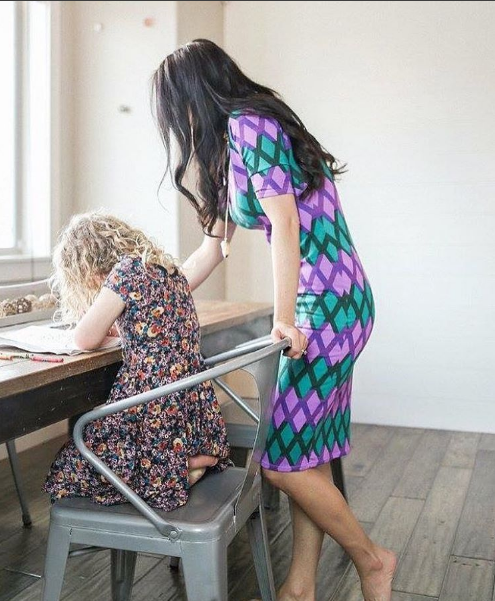 Love the colors in this Julia dress. Incredibly ...
