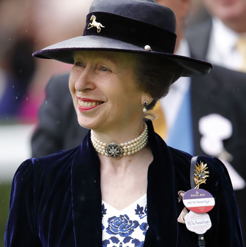 The Royal Family Celebrates Princess Anne's Birthday With