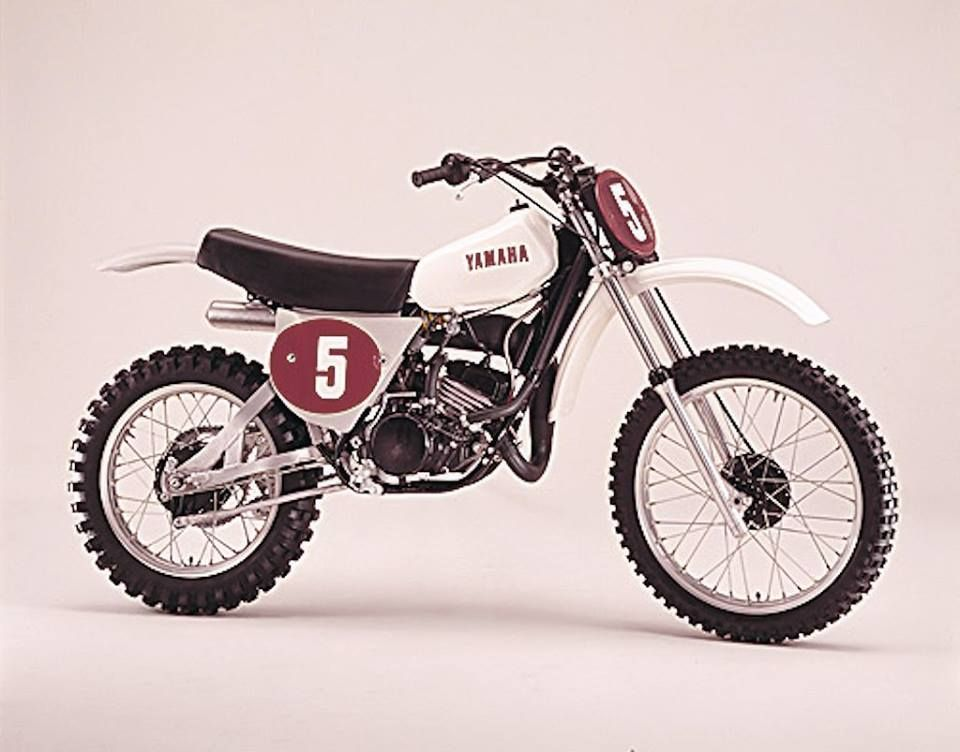Yamaha Yz Ow 27 125 1976 Vintage Bikes Vintage Motocross Motocross Bikes