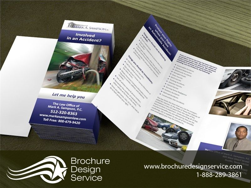 trifold brochure design lawyer legal brochure design company