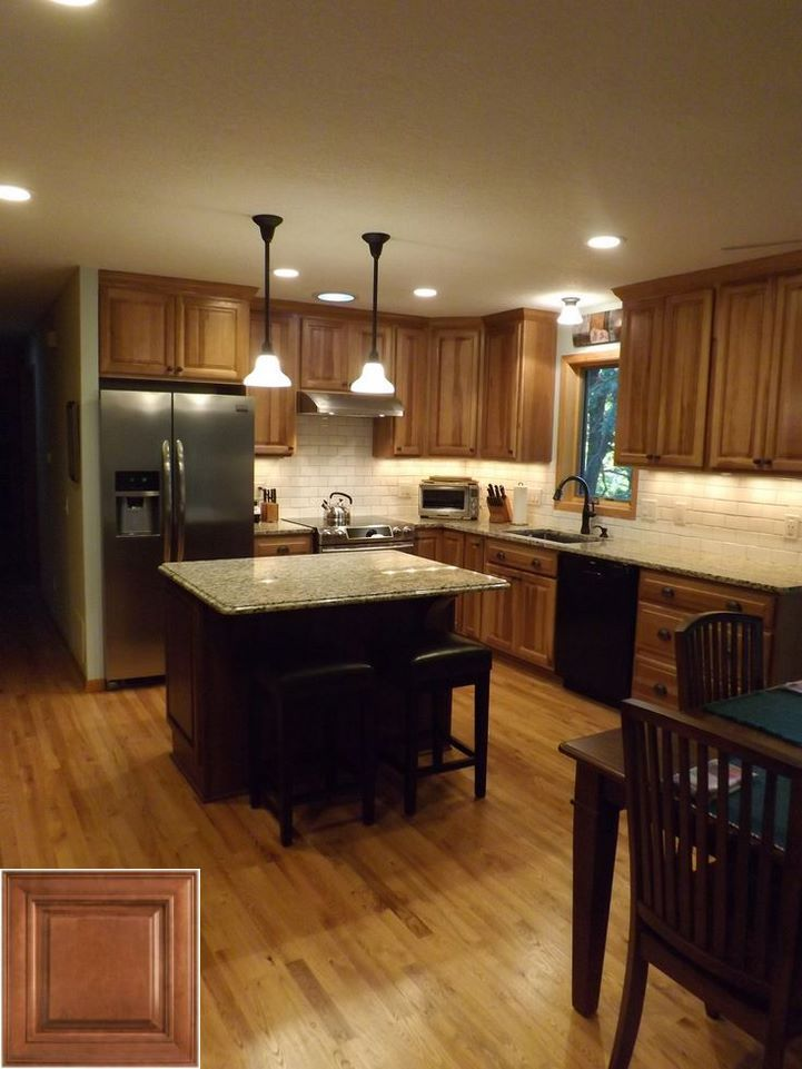 Consider - how to update my golden oak cabinets. # ...
