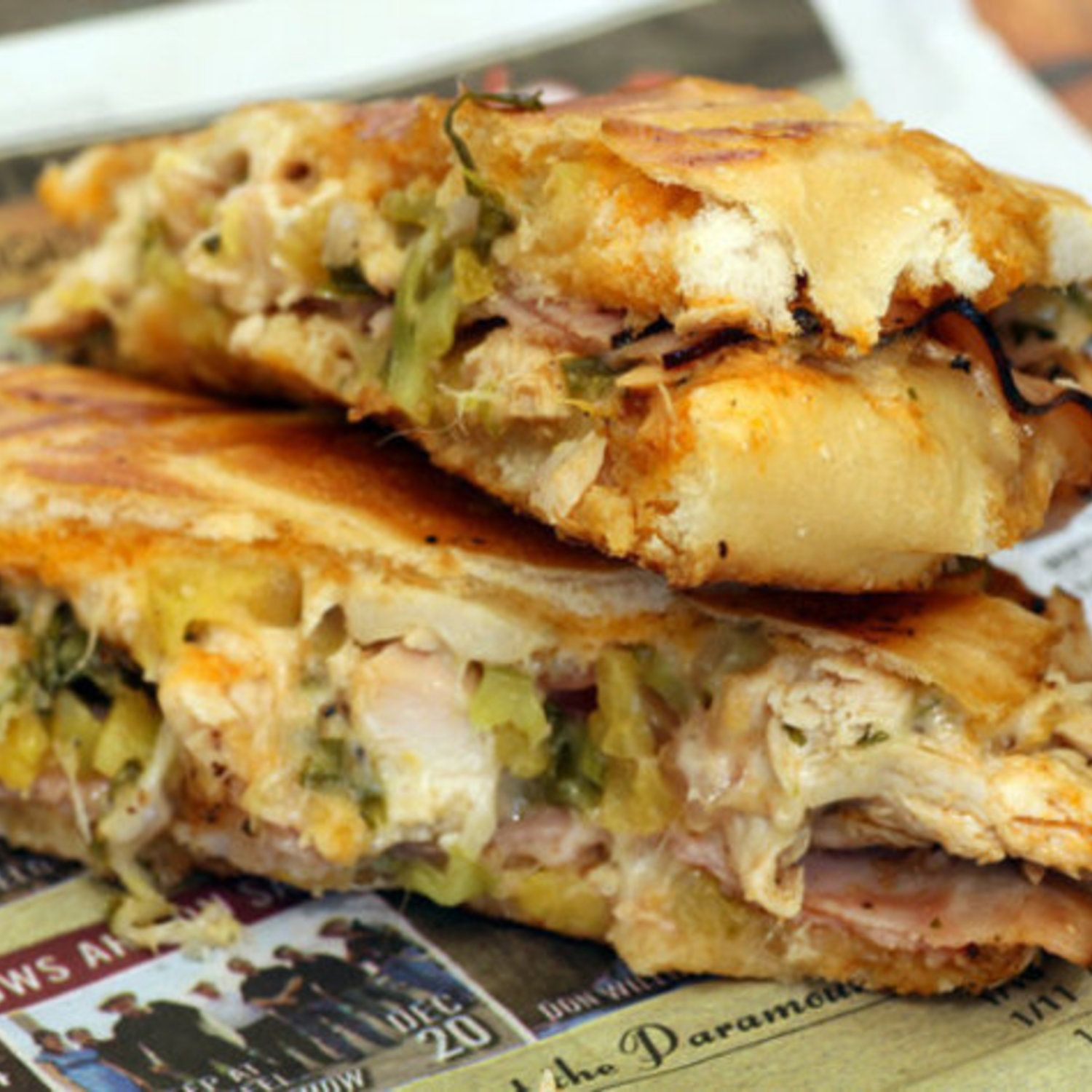 Cuban Sandwich with Mojo Sauce If made right, this is my favorite ... major