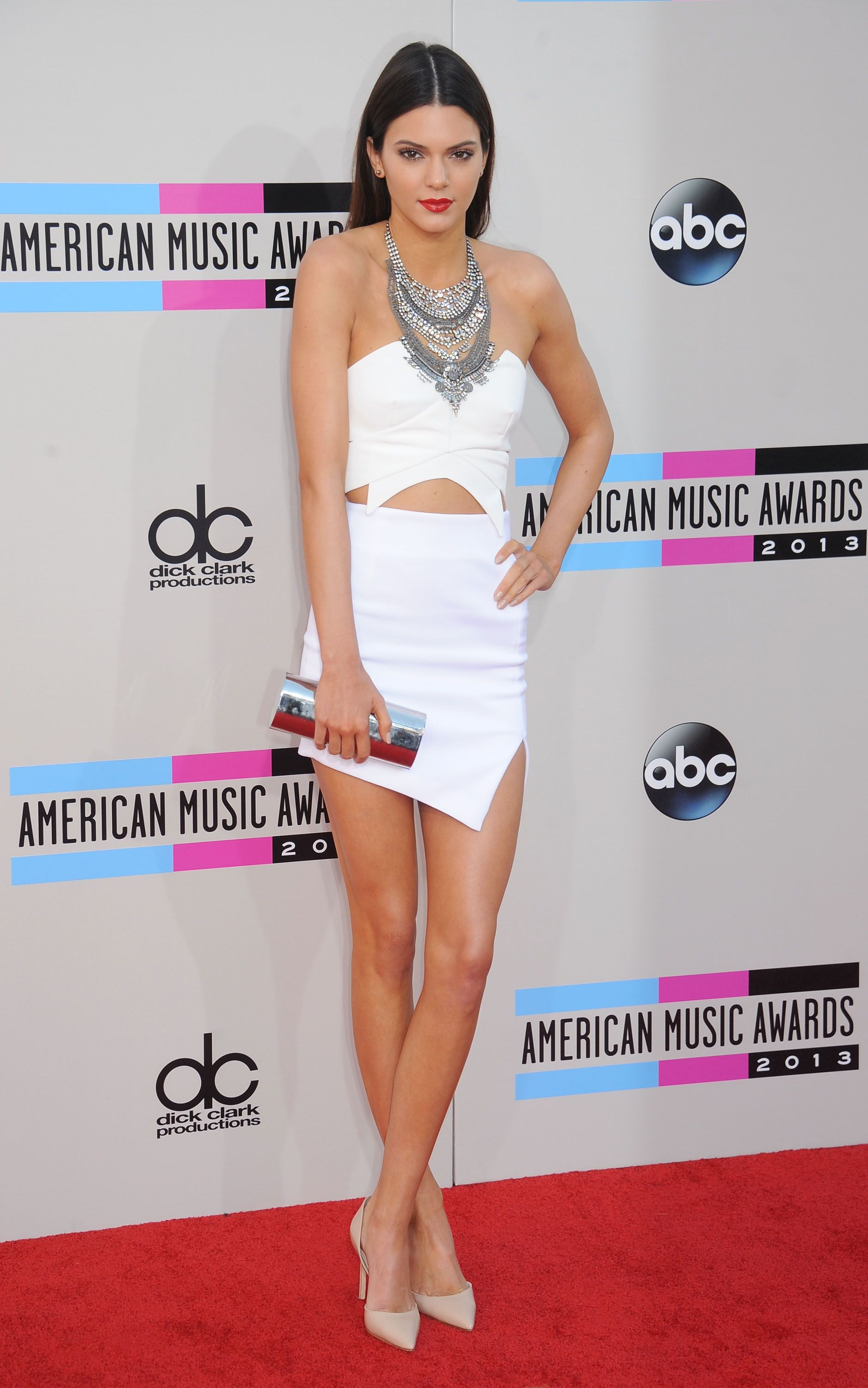 At the American Music Awards.   - ELLE.com