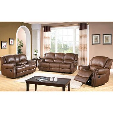 Harvest Reclining Sofa Loveseat And Chair Set Leather Living Room Furniture Living Room Leather Living Room Sets Furniture Sofa loveseat and chair set