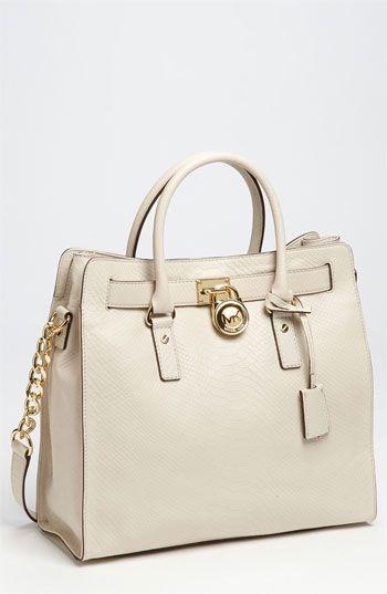 9de9fb986dd Cute cream colored bag....Michael Kors 'Hamilton - Large' Tote <3 ...