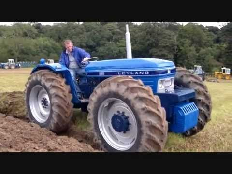 Leyland And Nuffield Equal Wheel Tractors Working Very Rare Youtube Tractors Leyland New Tractor