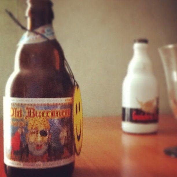 Old Buccaneer triple ale brewed and bottled in Belgium