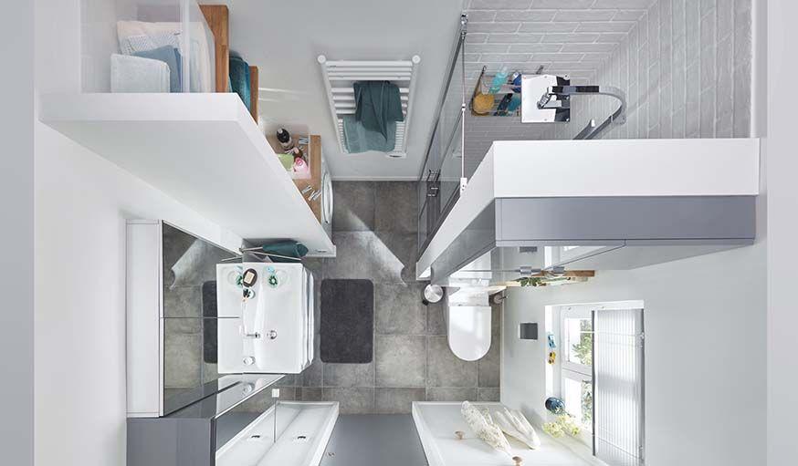 Comment aménager une petite salle de bains pour gagner de la place