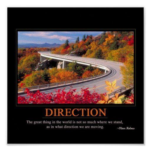 Direction Poster | Zazzle.com
