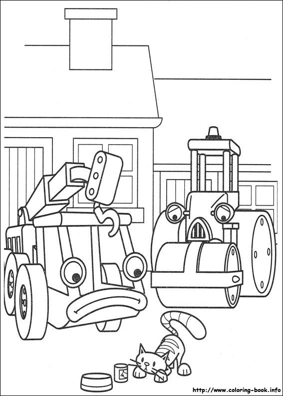 Bob the Builder coloring picture | Kinder: Coloring Sheets ...