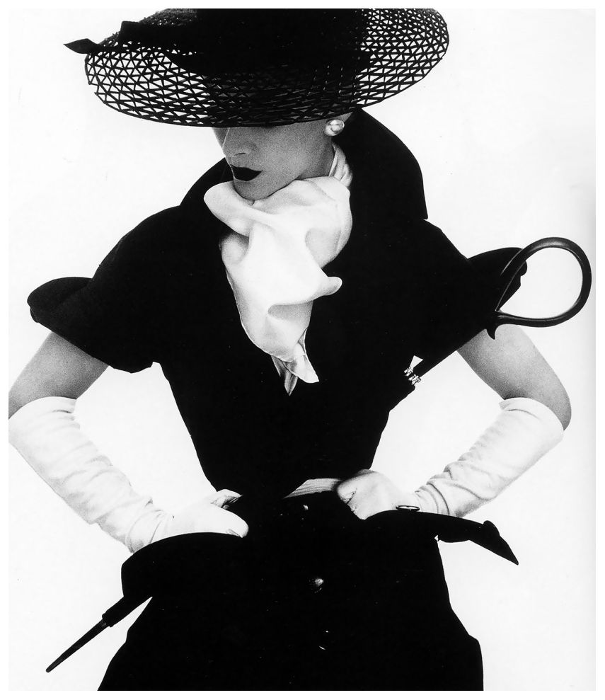 lisa in hat by lilly dach vogue april 1 1950 1950 1959 Ideas for Women Style Clothing lisa fonssagrives in hat by lilly dach photo by irving penn new york vogue april 1 1950