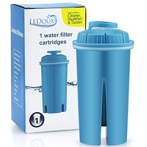 Ledoux Waters Water Filter 10 Cup Pitcher Advanced Replacement Filter Cartridge Best Water Filter Water Filter Pitcher Water Filter