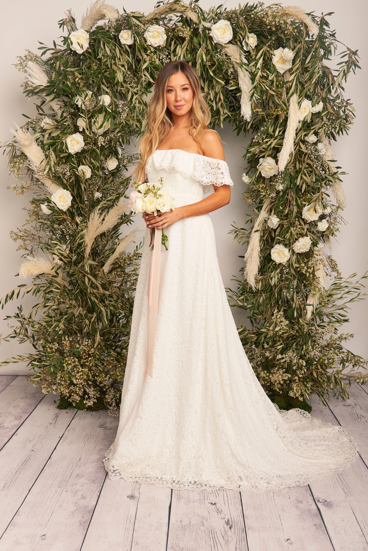 Show Me Your Mumu Karolina Bridal Gowns Mumubrides Bohobrides
