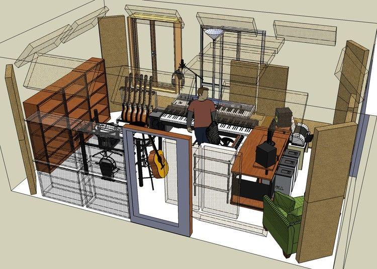 Mesmerizing Home Recording Studio Design Plans In Create Home Interior  Design With Home Recording Studio Design Plans   Mesmerizing Interior Design  Ideas