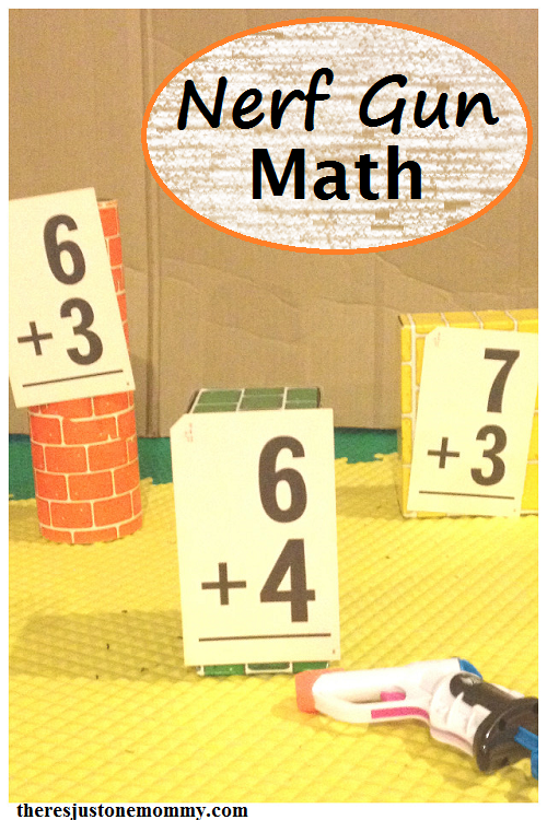 Nerf Gun Math | HOMESCHOOLING | Pinterest | Math activities, Math ...