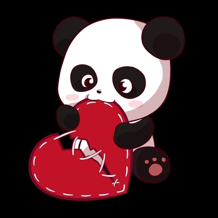 Hawxx Is Rippin Collection Mini Pandas Cute Panda Cartoon Panda Art Cartoon Panda