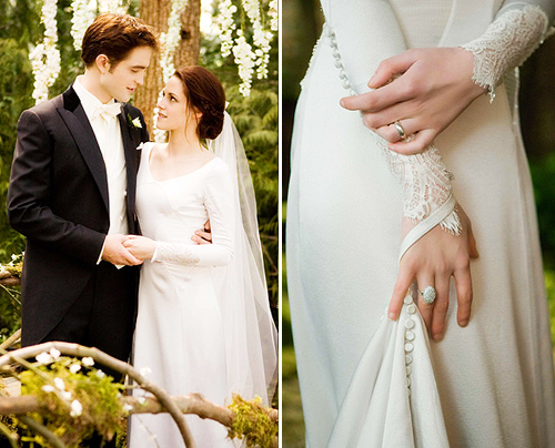 Twilight saga bella wedding dress