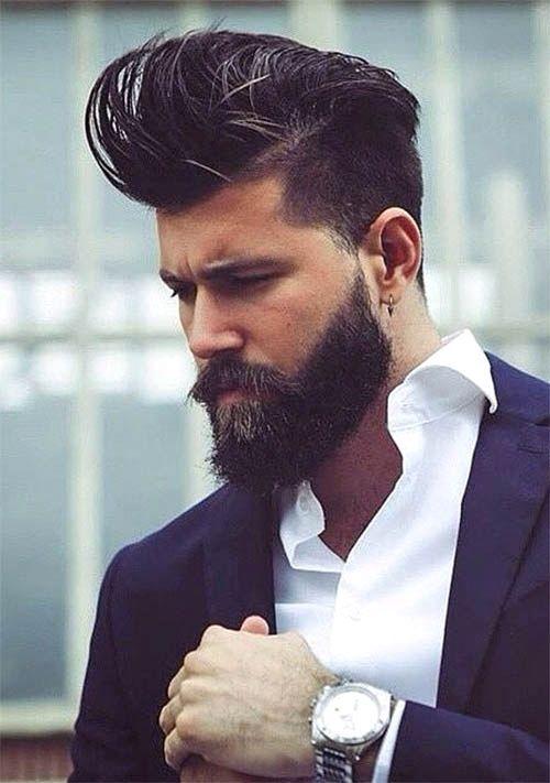 The Medium Length Top Undercut Hairstyles For Classy Men
