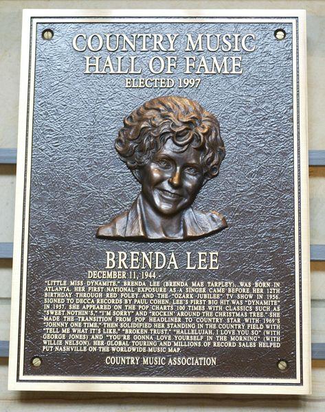 Brenda Lee - Inducted in 1997