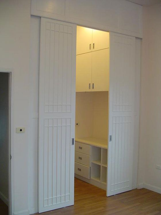 For Inside Space Of Spare Room Closet. Sliding Bedroom Closet Doors |