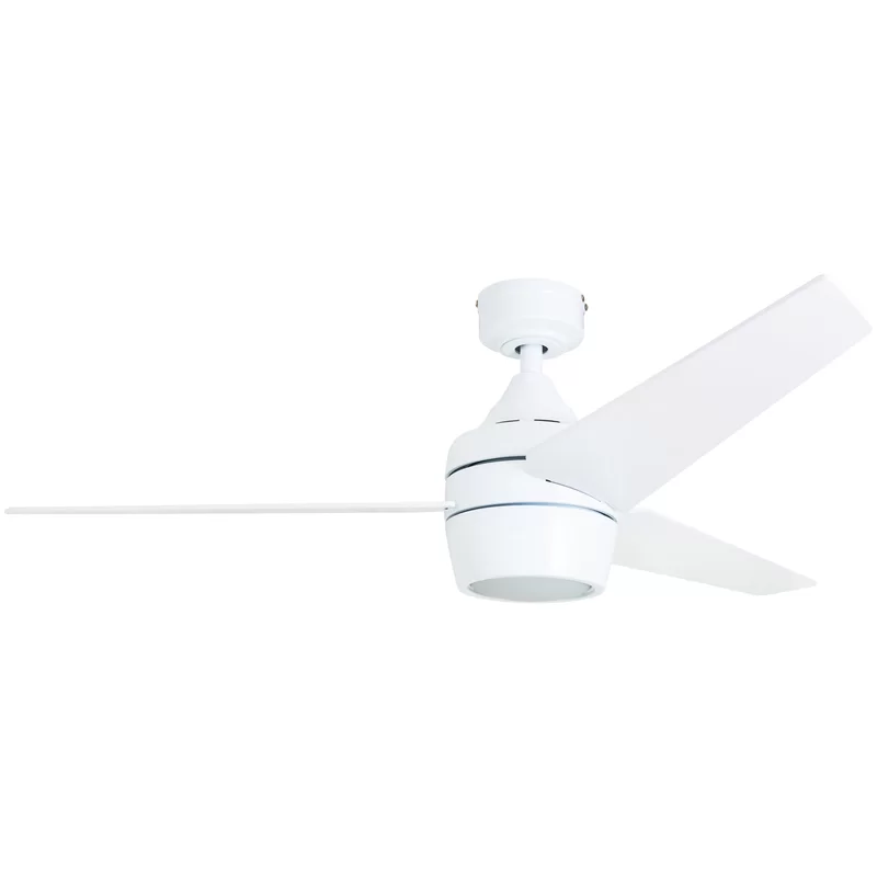 Breakwater Bay 52 Ares 3 Blades Led Ceiling Fan Light Kit Included Reviews Wayfair In 2020 Ceiling Fan Modern Ceiling Fan Ceiling Fan Light Kit